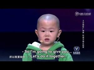 3 годишно китайче изуми даже Джет Лий с танците си!