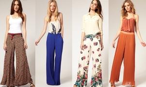 Как да носите широките си панталони със стил!