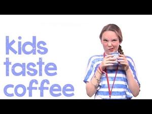 Реакциите на деца, които опитват кафе за пръв път!