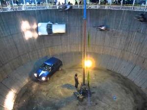 Невероятно шоу с коли и мотори!!