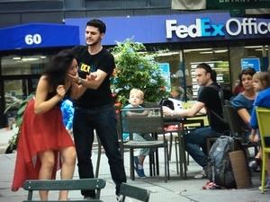 Какво се случва, когато жена бие мъж...