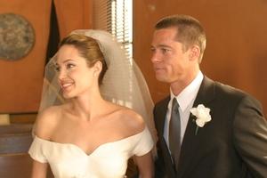 Тайната френска сватба на Брад и Анджелина!