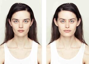 Няма да повярвате как изглеждат симетричните лица!
