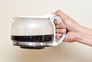 Когато сте направили прекалено много кафе...